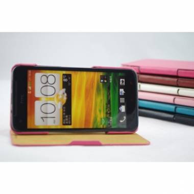 Flip Leather Case For HTC Burretfly x920e