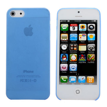 Translucent Ultra Thin Back Case Cover For iPhone 4 4S Random Shipment