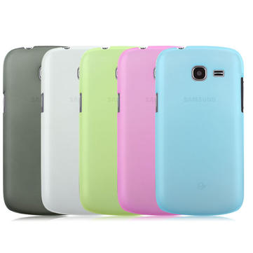 Snow Jade Clear Matte Protective Case For Samsung i699 i759