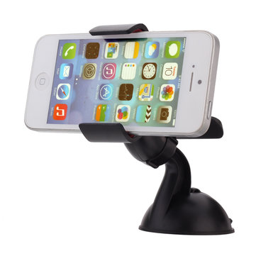 360 Degree Rotating Stand Mounted Device Holder For iPhone/GPS/MP4/PDA