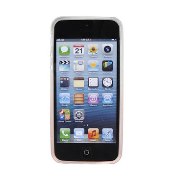 Ultra Slim Transparency Color Gradient Case For iPhone5 5S