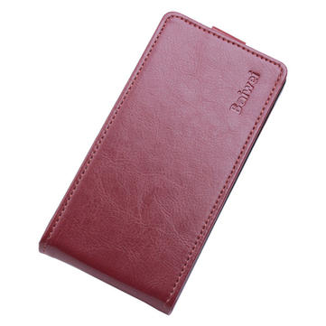 Flip Up And Down PU Leather Protective Case For DOOGEE Y100 Pro