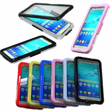 Waterproof PC Hard Case Cover For Samsung Galaxy S6 Edge Plus