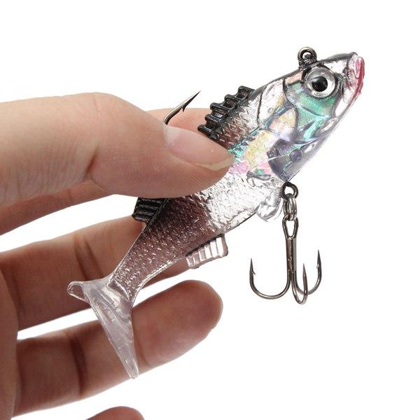 7.6cm 15g Paillette Fishing Lures Soft Lure Crankbaits
