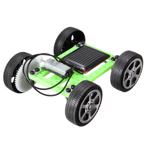 Solar DIY Gadget Car Mini Puzzle IQ Educational Toy