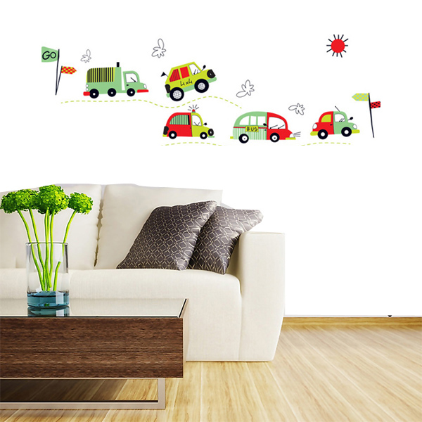 DIY Coloful Car Removable Wall Decal Stickers Art Kid R
