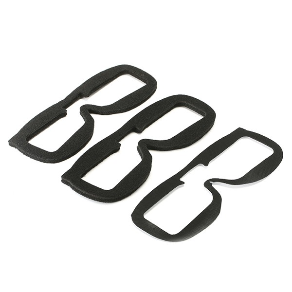 2 PCS Fatshark Replacement Faceplate Soft Foam Pads For FPV Goggles