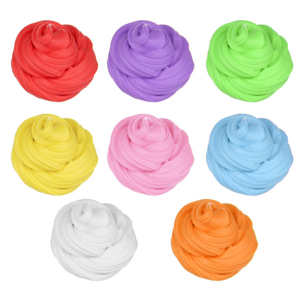 Candyfloss Fluffy Floam Slime Clay Putty Stress Relieve