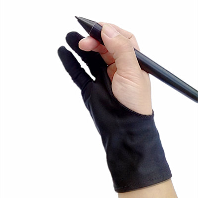 Safety Glove Artist Glove For Any Graphics Tablet Black