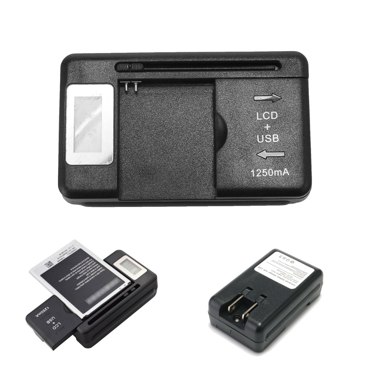 Battery Charger Power Adapter Us Plug For Nokia BL-4C B
