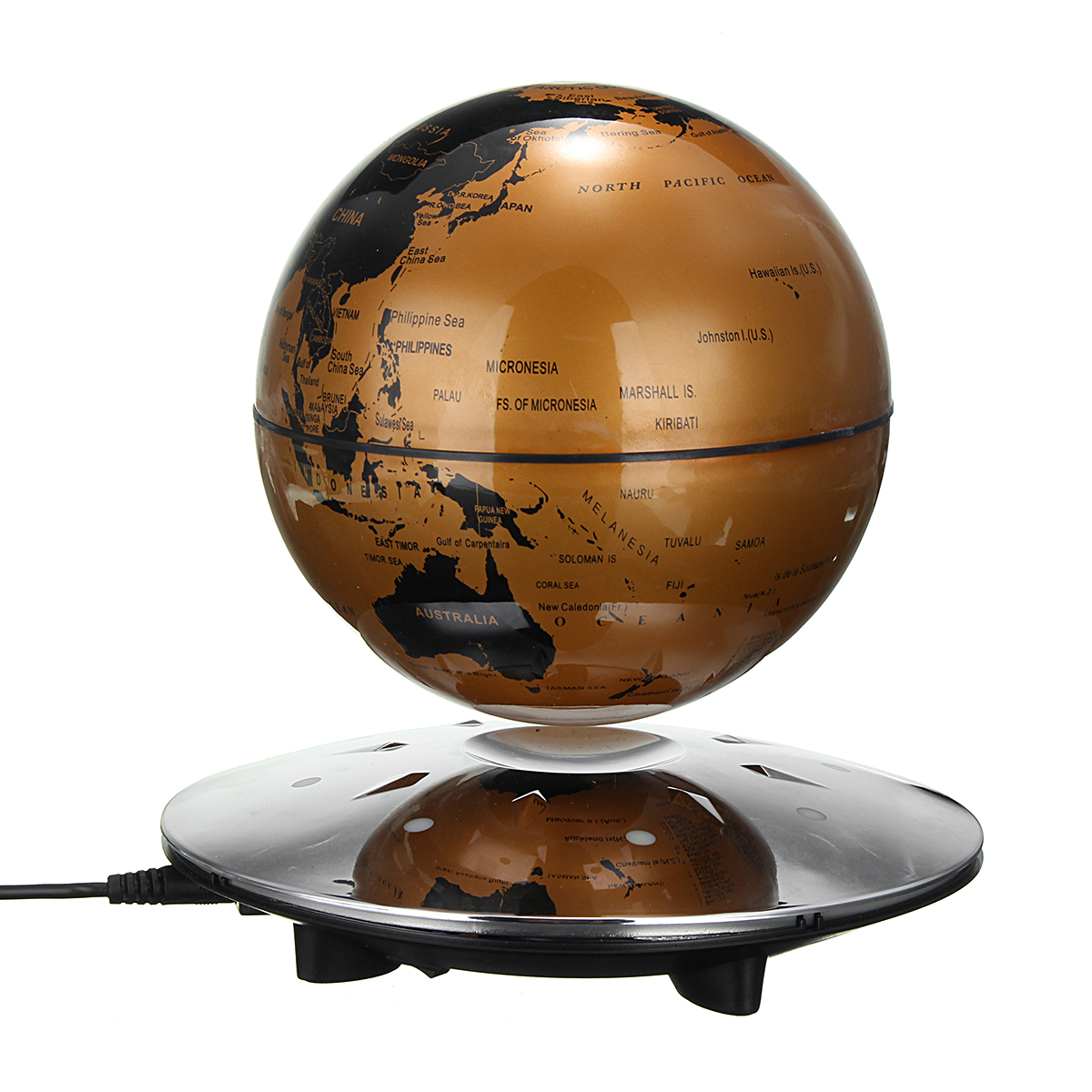 6 inch magnetic levitation floating globe world map maglev with 8 image is loading 6 inch magnetic levitation floating globe world map gumiabroncs
