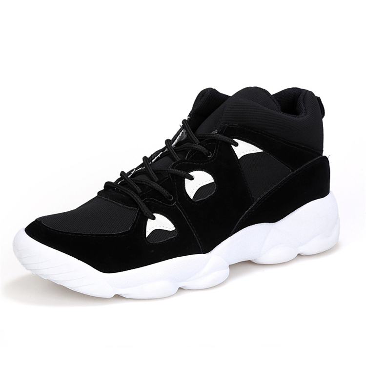 Men's Shock Absorbing High Top Ankle Sneakers Short Boo