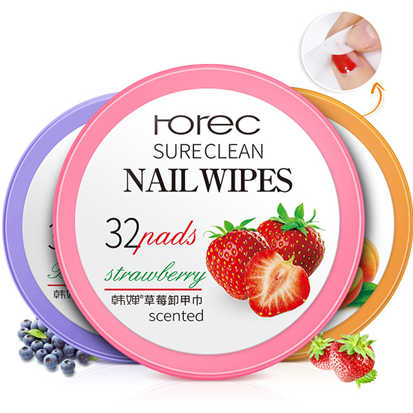 Nail Polish Remover Cotton Pads Manicure Cleaning Tools