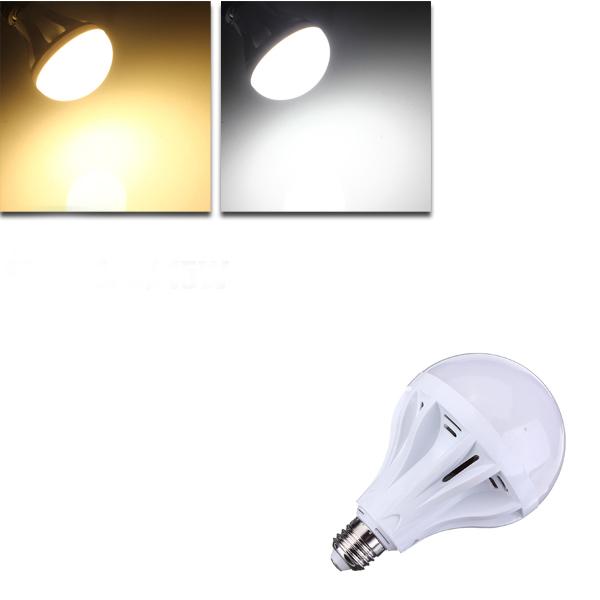 E27 15W 55 SMD 2835 Pure White/Warm White LED Globe Lig