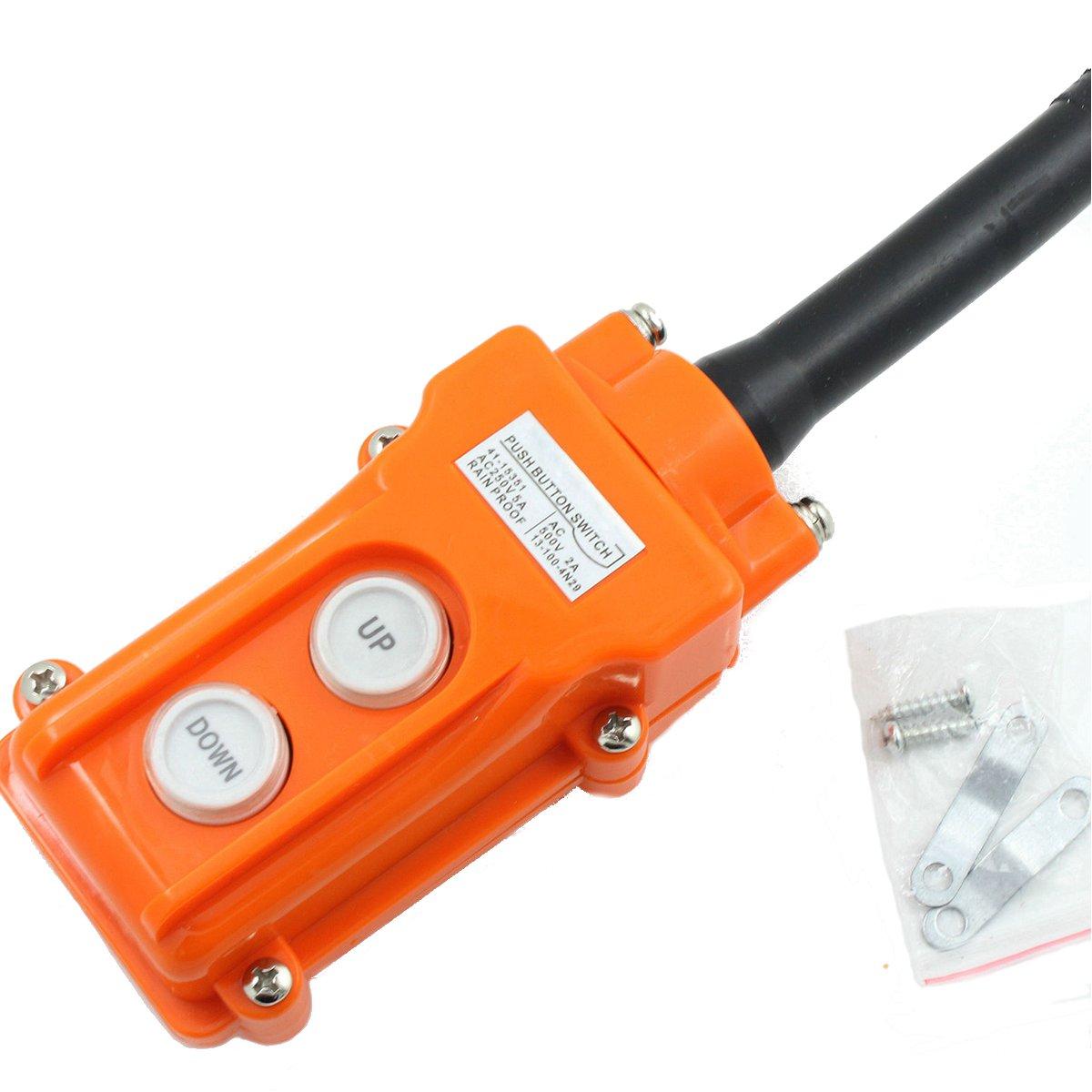 Crane Pendant Control Hoist Push Button Switch Station