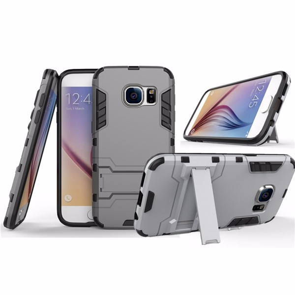 Kickstand Hybrid PC TPU Case for Samsung Galaxy S7 Edge