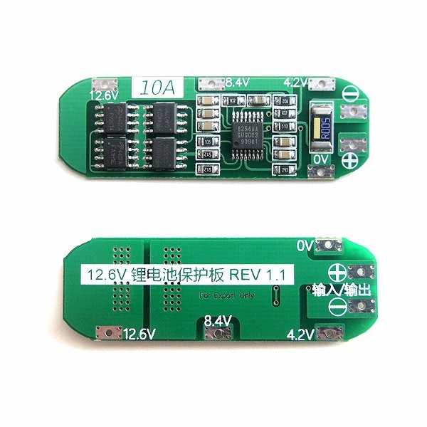 Seiko Protection IC 10A Protection Board For 3S 11.1V 1