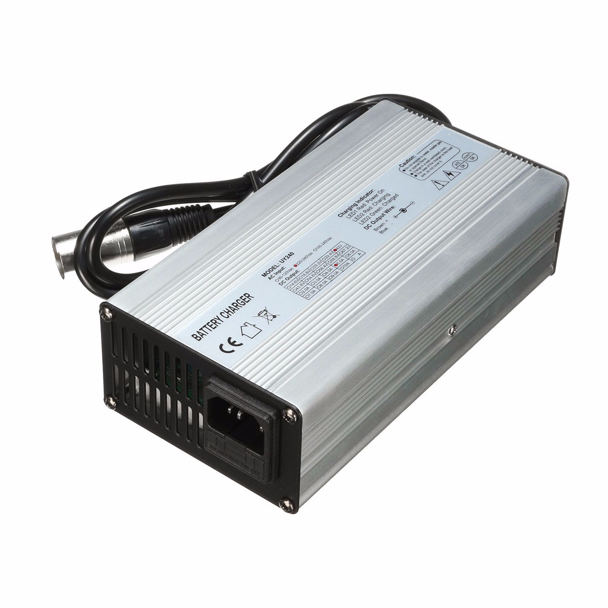 36V 37V 42V 45V 5A Battery Charger For 10s 10x 3.6V/3.7