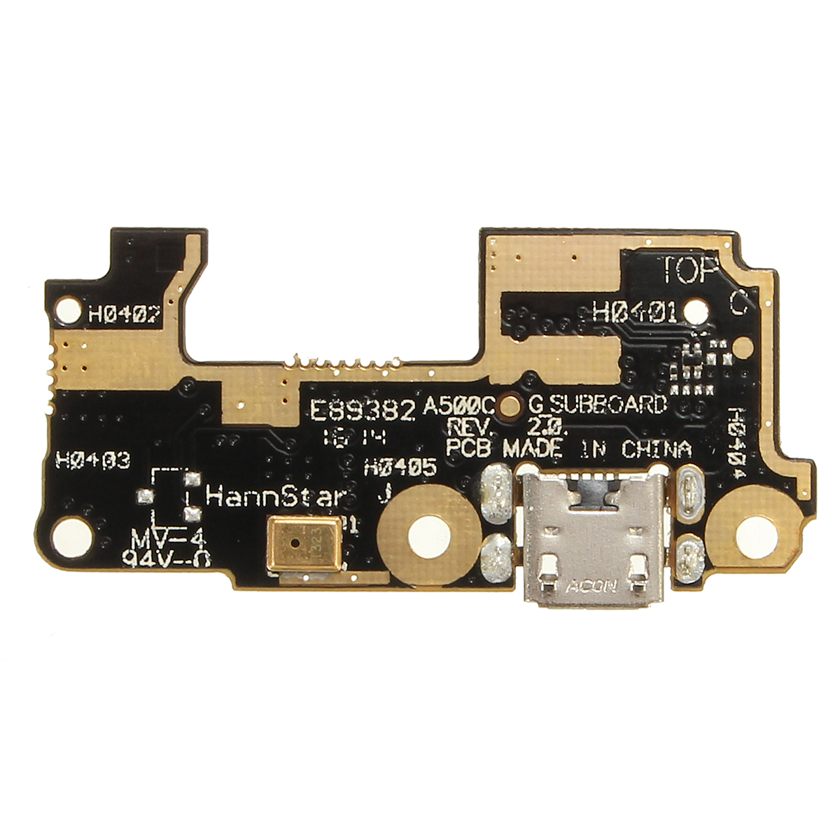 Microphone Mic + USB Charging Port Flex Cable For Asus