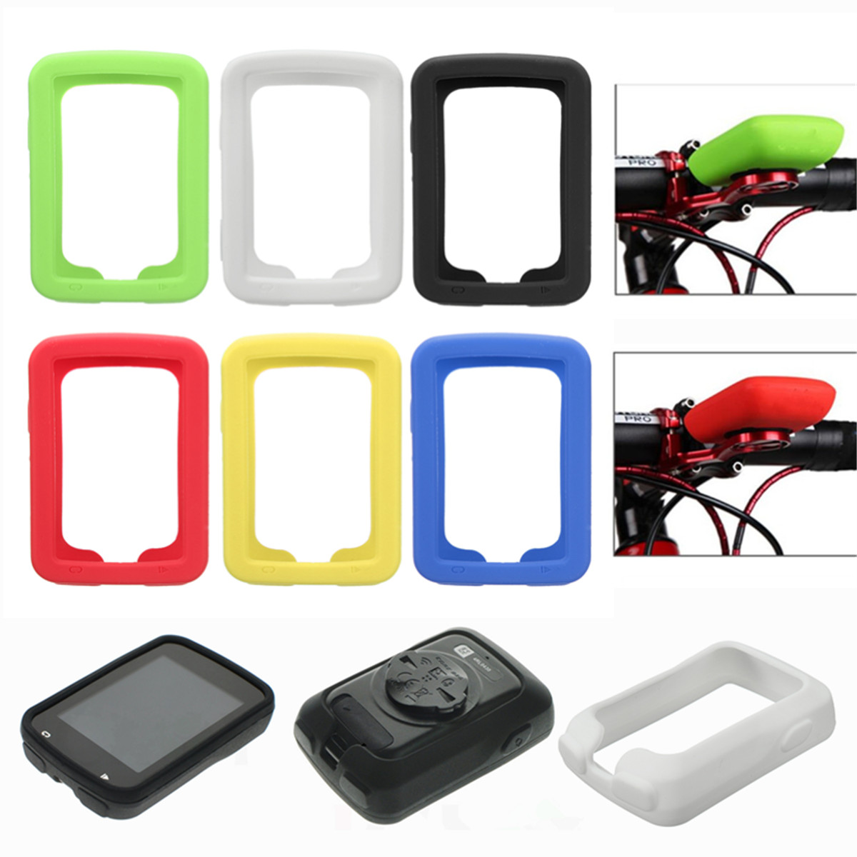 BIKIGHT Silicone Gel Case Cover for Garmin Edge 820 / E