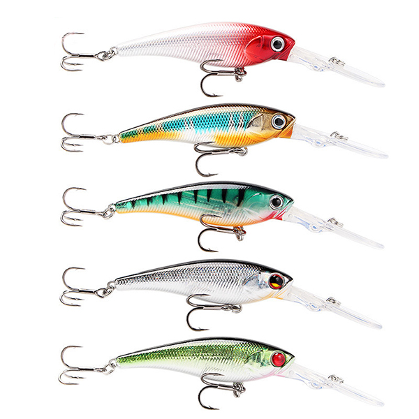 SeaKnight 5 PCS/Lot Minnow Hard Lures 9.5cm 7g Fishing