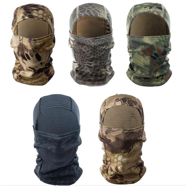 Outdooors Tactical Balaclava Full Face Mask Airsoft Mul