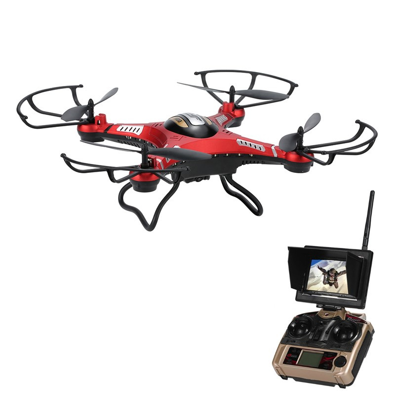 JJRC H8DH 5.8G FPV With 2MP HD Camera 2.4G 4CH 6Axis Altitude Hold RC Quadcopter RTF