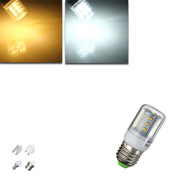 E27/E14/G9/GU10/B22 3W 2835 SMD LED Corn Bulb Warm/Whit