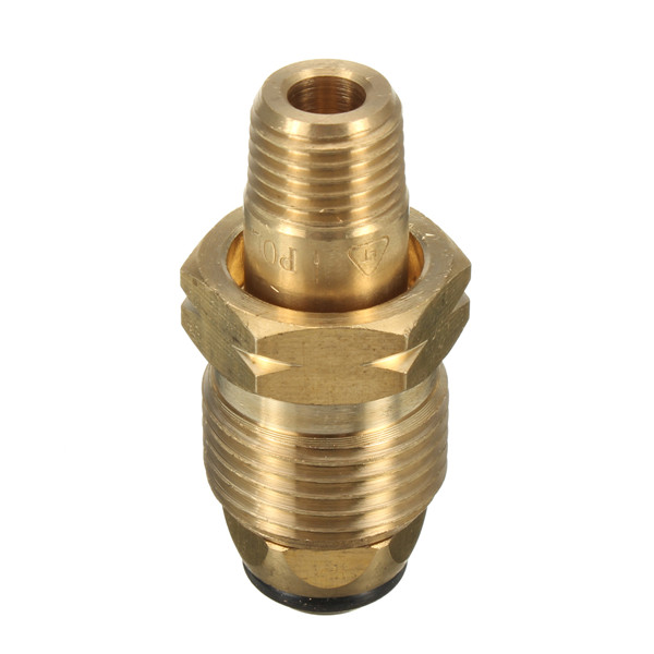 Brass 6mm Propane LP Gas Cylinder Fitting POL Connector