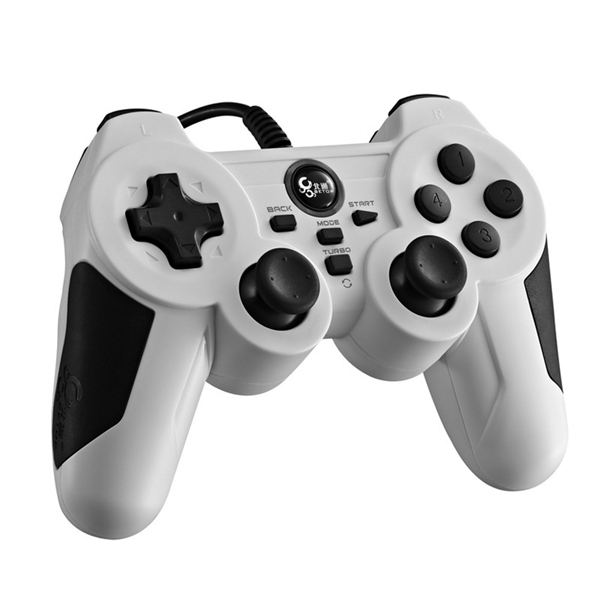 BETOP BTP-2163 Wired USB Port Game Controller Gamepad f