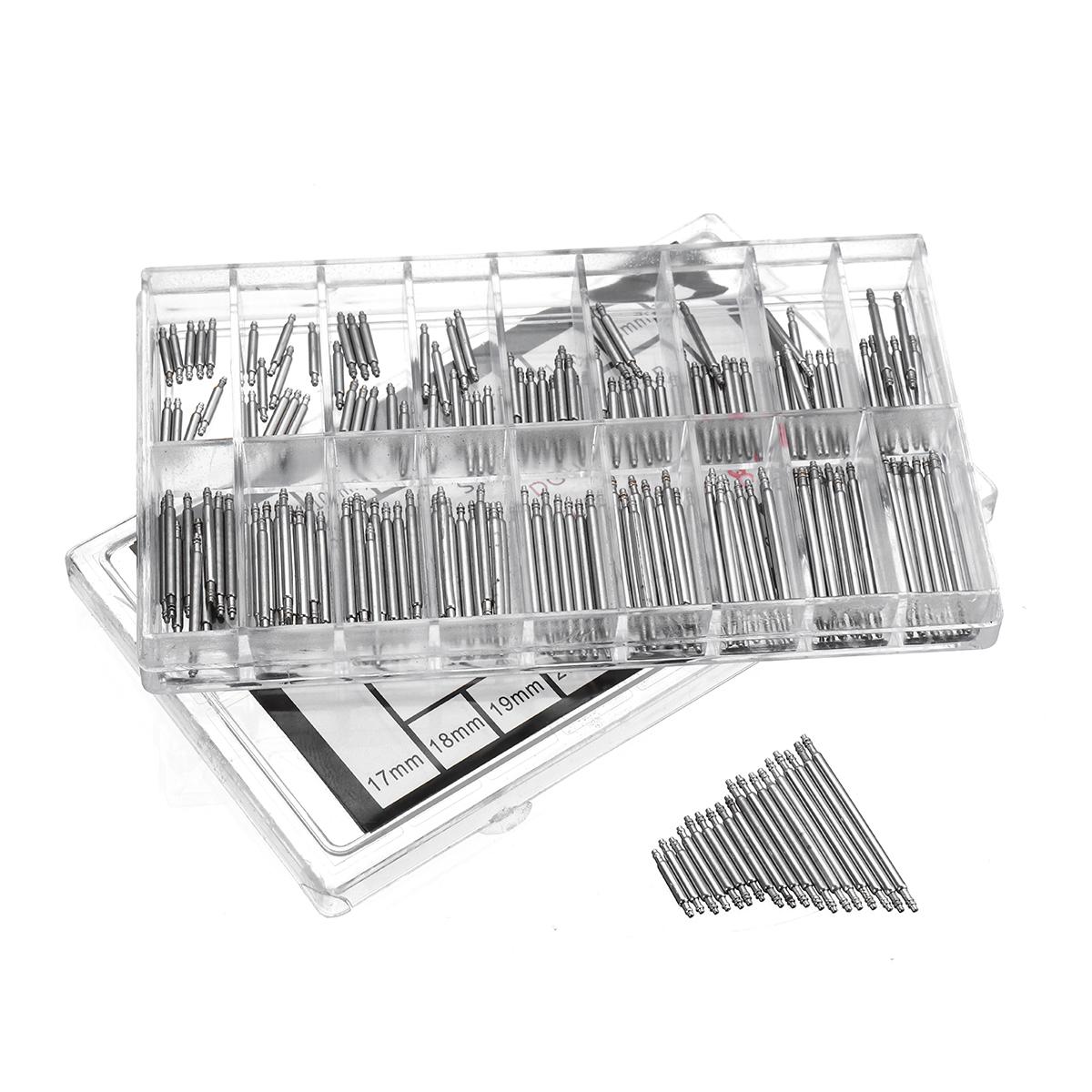 180Pcs 8-25mm Spring Bars Strap Pin Repair Fix Kit for