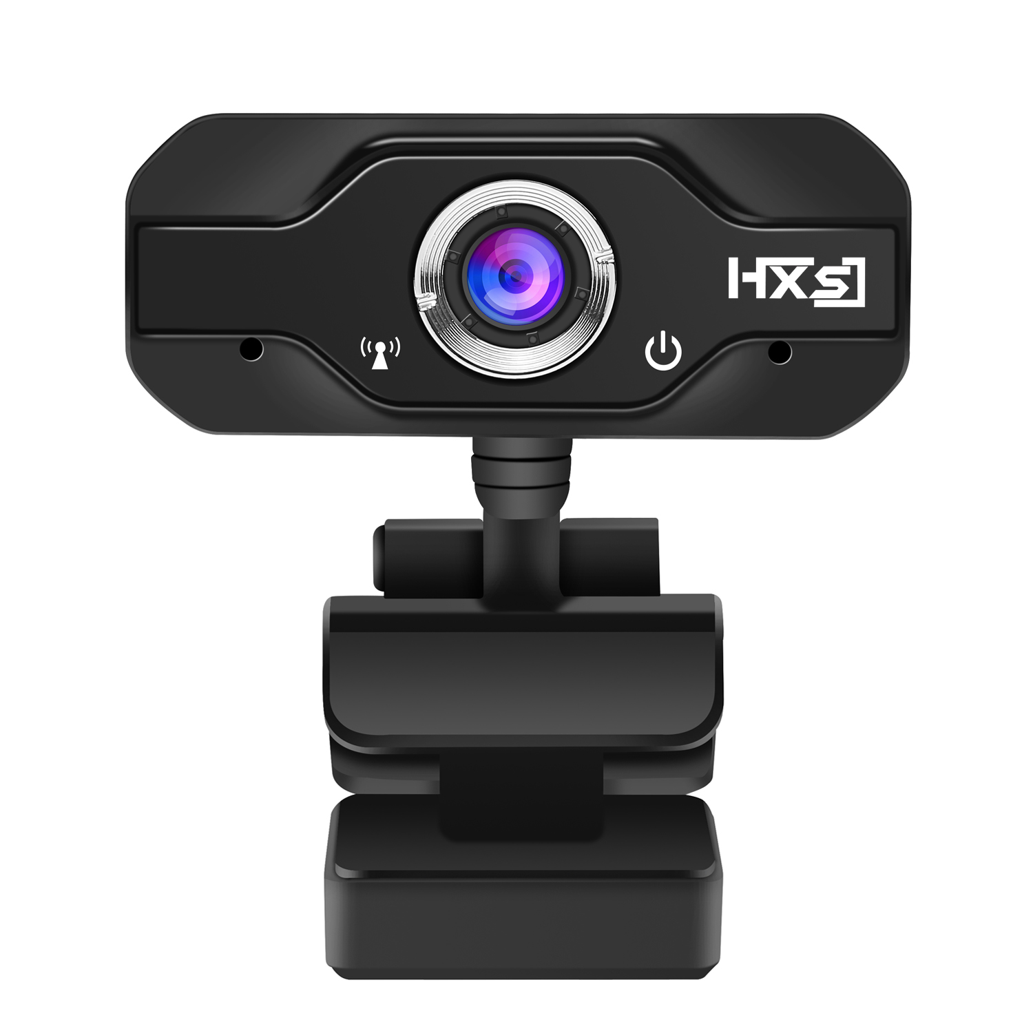 HXSJ HD 720P CMOS Sensor Webcam Built-in Microphone Adj