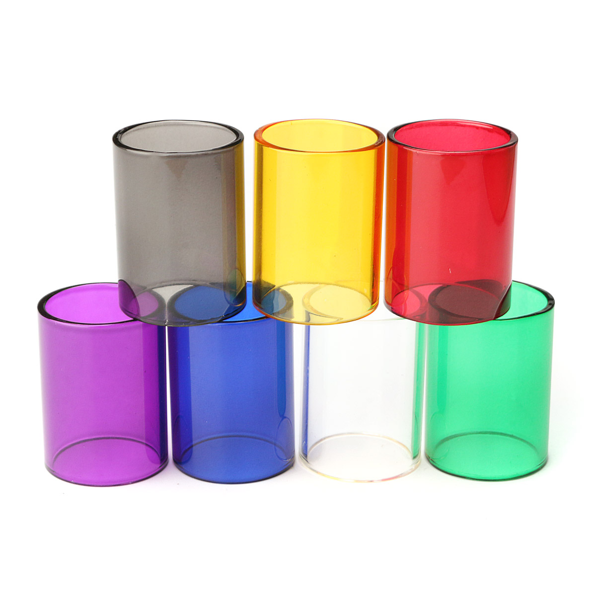Replacement Transparent Pyrex Glass Tube Cap Tank for G