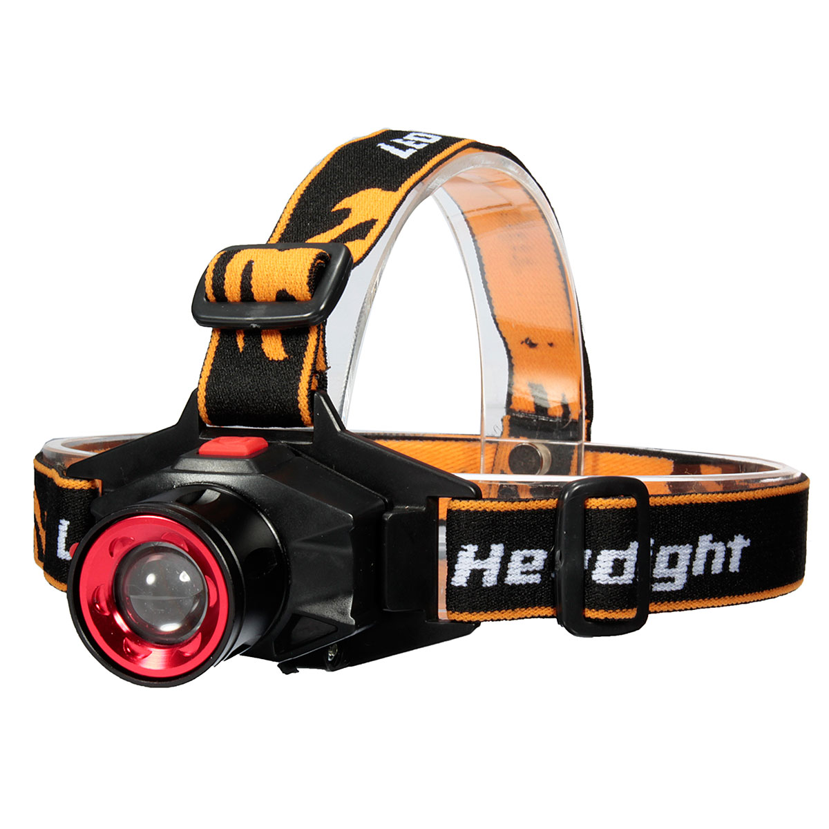 XANES 600LM T6 3 LED Zoomable Headlight Head Torch Head