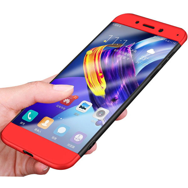 Bakeey 3 in 1 Double Dip 360 PC Case For Huawei Honor 8