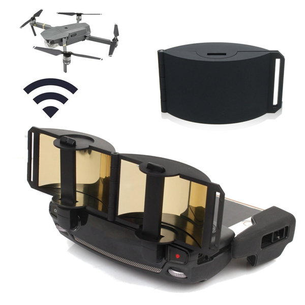 Black Mirror Plate Foldable Signal Extend Antenna Range Booster For DJI Mavic Pro