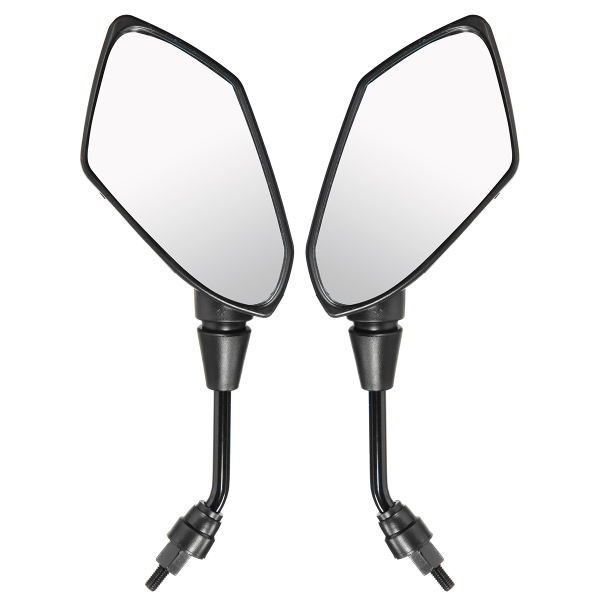 8mm 10mm Motorcycle Rear View Mirrors For Scooter E-Bik