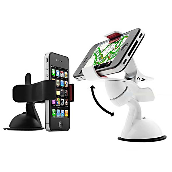 360 Angle Rotating Car Sucker Bracket Holder For iPhone Smartphone