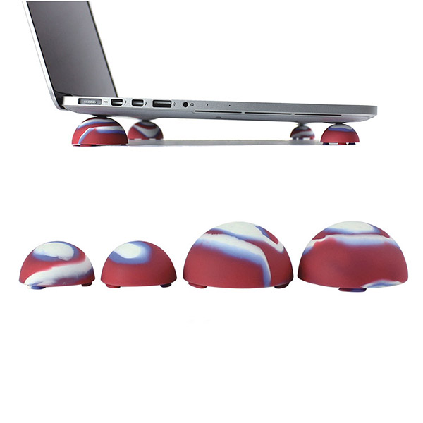 Refinement Bright Silicon Cooling Ball Cover For Macbook