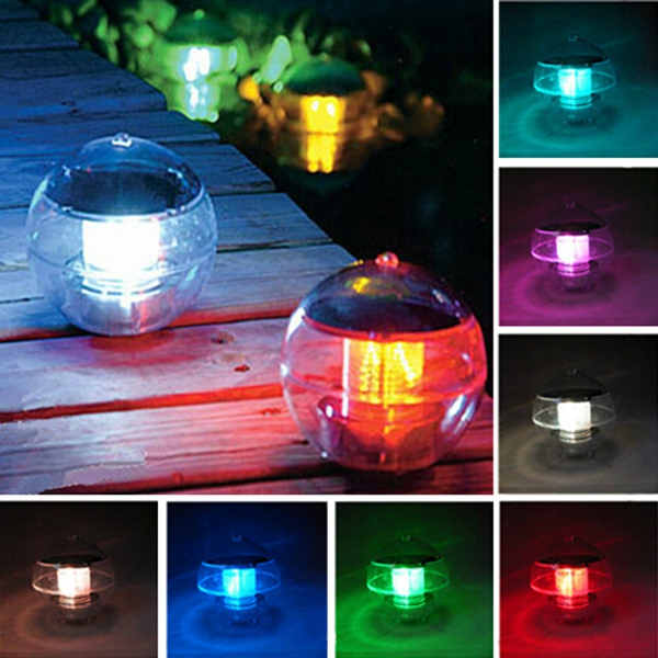 LED Solar Powered Light Garden Spotlight Landscape Floated Light
