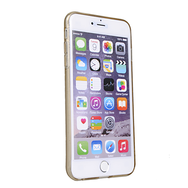 Rock Transparent Invisible Soft TPU Case For iPhone 6 P