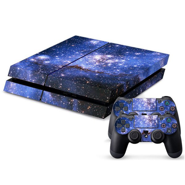 Sticker Skin For PS4 Play Station 4 Console + 2Controll