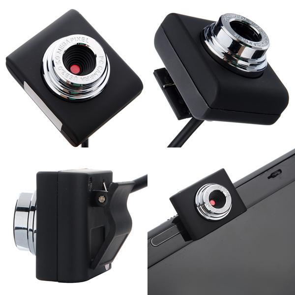 Mini USB 30M Webcam Camera Webcams For Laptop Notebook-