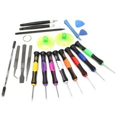 Professional 20 In 1 Repairing Openging Pry Tools Set Kit For Tablet Cell Phone