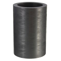 40X60mm 25 OZ Graphite Crucible Cup Ingot Bar Combo Mold For Silver Gold Melting Casting