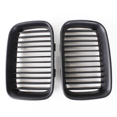 Black Sport Kidney Grille Grill For BMW E36 318/328/328 1992-1996