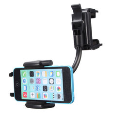 Universal Car Rear View Mirror Mount Stand Holder For iPhone Cell Phone