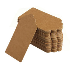 100 Kraft Paper Gift Tags Wedding