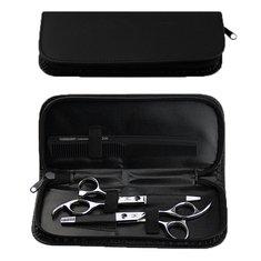 PU Hairdressing Hair Salon Scissor Shear Tool Sipper Case Pouch Bag