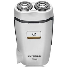 FLYCO FS828 220V Rechargeable Electric Shaver Floating Rotary Razor